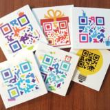 Dagritme austisme QR-Code Stickers